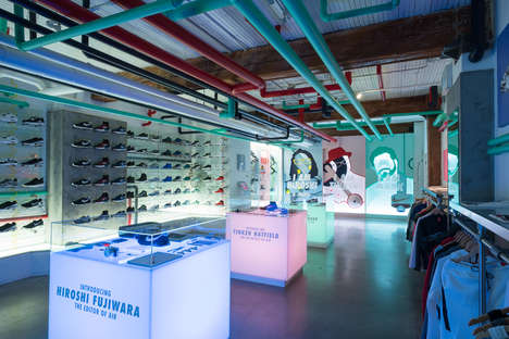 Top 100 Retail Ideas in April - From Athletic Label Music Venues to Custom LP Pop-Ups