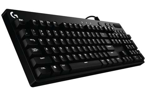 Mechanical Gaming Keyboards - Logitech's Cherry Keyboards Offer Sophisticated Design and Function
