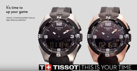 Solar-Recharging Smartwatches - The Tissot Smart-Touch Can Function As a Watch When Uncoupled