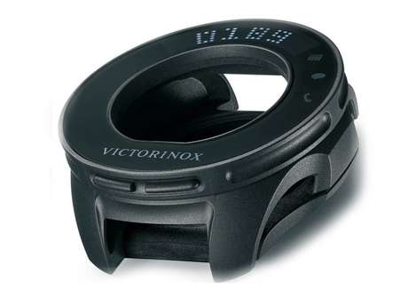 Transformative Watch Cybertools - The Victorinox INOX Cybertool Boosts INOX Wristwatch Function