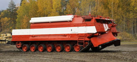 Behemoth Armored Firetrucks - Russia's New Fire Trucks Are Designed to Battle Catastrophic Fires