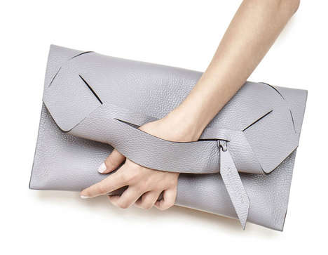 Avant-Garde Leather Bags - Soft Edge by Linda Sieto is Full of Supple Material and Intriguing Shapes
