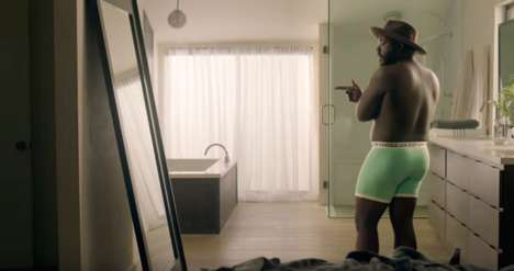 Inclusive Male Underwear Campaigns - The #AerieMan Campaign Takes on the Issues of Male Self Image