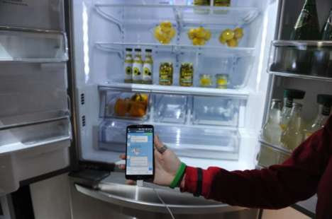Futuristic Connected Fridges - Home Appliances are Ripe for IoT Technology to Streamline Chores