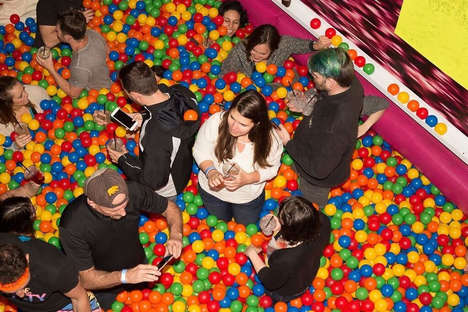 Adult Ball Pit Bars - This Event Combines the Fun of a Ball Pit with Adult-Oriented Drinks