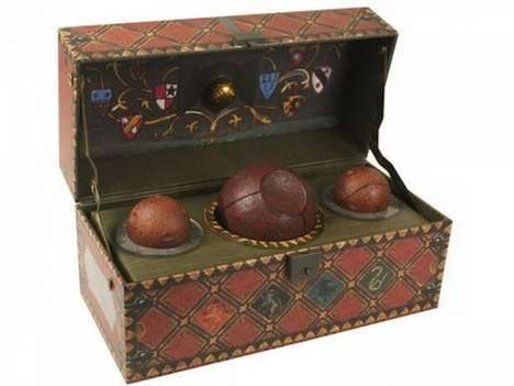 Wizard Sport Memorabilia - This Ornamental Quidditch Set Pays Homage to a Magical Sport