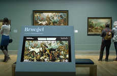 Virtual Artwork Experiences - Google Cardboard is Bringing Bruegel Paintings to Live Online