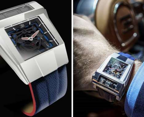 Supercar-Inspired Timepieces