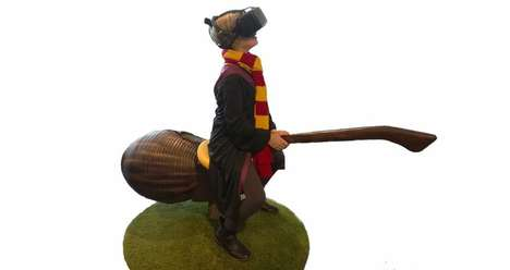 Wizard Sport Simulators - The LocomotionVR Transports Users to a Harry Potter Quidditch Game