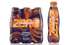 Low-Calorie Flavored Lemonades - The 'Lucozade Zero' Range is a Low-Calorie Lemonade Option