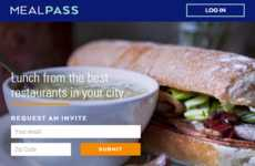 Weekday Lunch Memberships - For $99 Monthly, 'MealPass' Makes Getting Lunch Easy