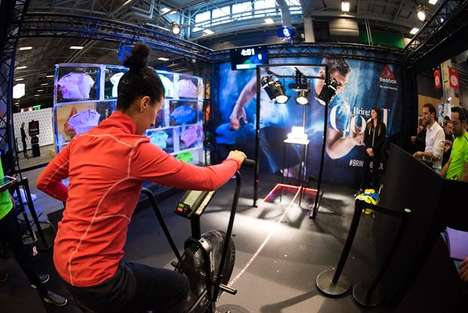 Ice-Themed Fitness Challenges - Reebok Promoted Activchill with Two-Minute Stationary Bike Rides