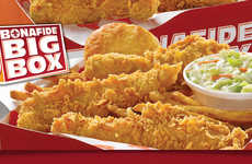 Discount Meal Boxes - The $5 Bonafide Big Box Contains an Entire Meal in One Compact Container