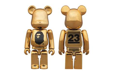 Celebratory Bear Toys - BAPE is Celebrating its 23rd Anniversary with a Bearbrick Medicom Toy