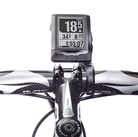 Smart Bicycle Computers - The Wahoo Elemnt GPS Bicycle Computer Makes Your Bike Smarter