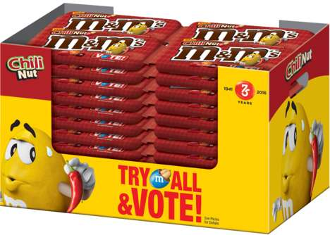 Fan-Picked Candy Flavors - The 'Flavor Vote' Promotion Allows Fans to Choose the Next M&M's Flavour