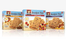 Oatmeal-Based Breakfast Bars - The New Quaker Breakfast Flats are Designed for Eating on the Go
