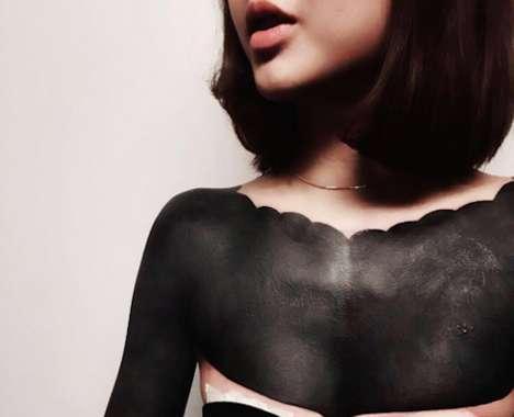 Intense Black Tattoos