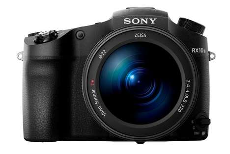 Hyper-Zoom Cameras - The New Sony Cyber-Shot RX10 111 Offers Top-Notch Zoom and Sensor Capabilities