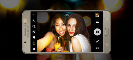 Supremely Stylish Smartphones - The New Samsung Galaxy J7 Offers Fashion-Forward Performance