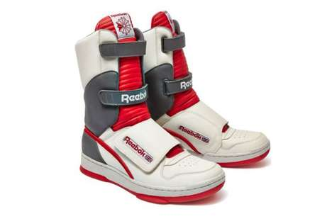 Futuristic Boot Sneakers - These Reebok High-Top Athletic Boots Creatively Celebrate Alien Day