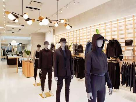 Activewear Prototyping Studios - The Lululemon Lab in NYC is an Experimental Retail Concept