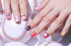 Ballpark-Themed Nail Stickers - Stylenanda's Baseball Nail Stickers Celebrate the Upcoming Season