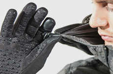 Discreet Warming Gloves - The FNDN Heated Gloves Offer 4.5 Hours of Cozy, Soothing Heat