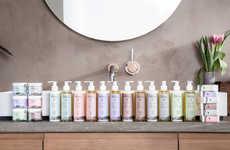 Countryside Perfumery Branding - The Burren Perfumery Boasts a Pastel-Hued Skincare Line