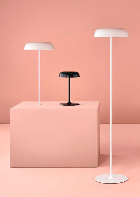 Minimalist Lighting Collections - Herman Miller's Latest Lamp Range is Inspired by Street Lights