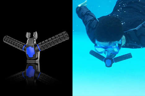 Underwater Breathing Devices - The Triton is the World's First Underwater Breathing Apparatus