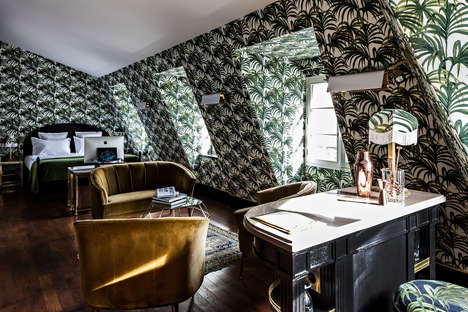 Palatial Parisian Lodgings - Hotel Providence in Paris is a Stunning, Velvet-Adorned Palace
