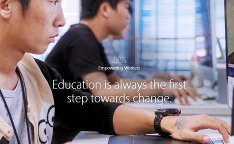 Educational Workplace Initiatives - Apple's Employee Programs Encourage the Testing of New Devices
