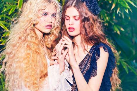 Fairy Girl Fashion - The Vogue Japan May Issue Stars Models Meredith Mickelson and Zoi