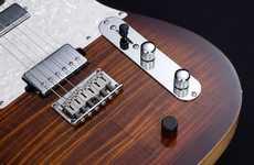Versatile Hybrid Guitars - The Hybrid 55 Lets Guitarists Blend Acoustic and Electric Tones