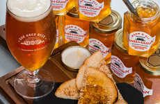 Booze-Infused Marmalades - This Beer Company Has Created a Spreadable Beer to Add to Toast