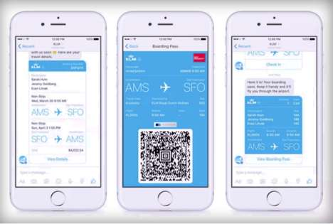 Social Media Boarding Passes - This Airline Now Uses Facebook Messenger to Send Flight Updates