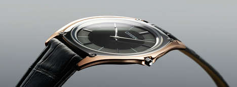 Light-Powered Thin Watches - The Citizen Eco-Drive One is the World's Thinnest Light-Powered Watch