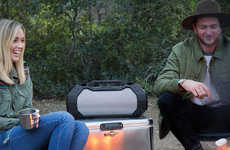 Super-Sized Outdoor Speakers - The Braven Brv-xxl Provide Portable Sound from 360-Degrees
