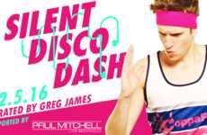 Philanthropic Disco Runs - CoppaFeel! is Throwing a Charity Fun Run and Silent Disco Hybrid