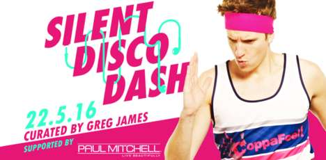 Philanthropic Disco Runs - CoppaFeel! is Throwing a Charity Fun Run and Silent Disco Hybrid