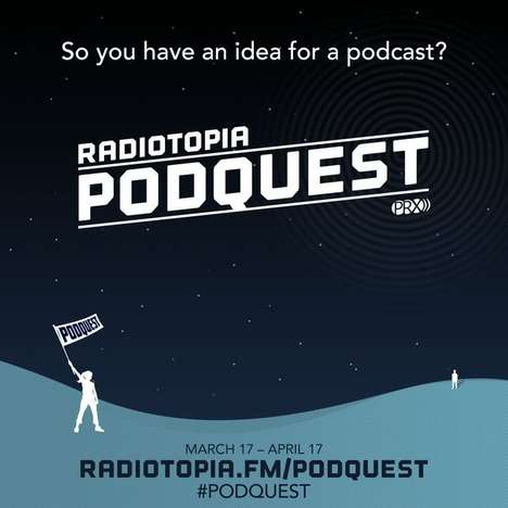 Podcast Host Competitions - Radiotopia's 'Podquest' Brings Entertaining Competition to Podcasting