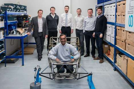 Lightweight Bicycle Components - Caterham Cars' New Platform Could Be Applied to Trucks