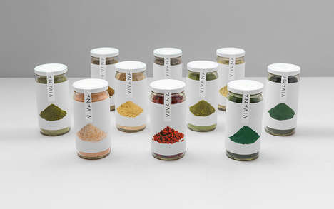 Ingredient-Inspired Branding - Viviana's Nutritional Food Products are Reflected in the Packaging