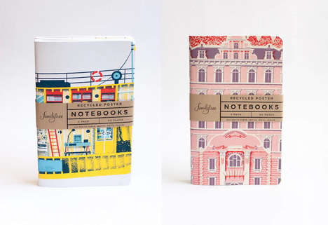 Movie-Inspired Notepads - These Wes Anderson Notebooks are Made for Fans and Quirky Design Lovers