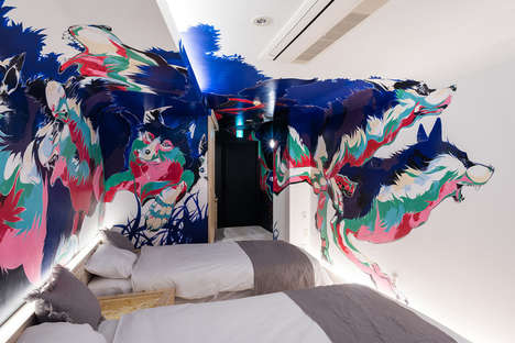 Art Gallery Hotel Suites - The BnA Hotel Tokyo Immerses Travelers in Work by Local Artists