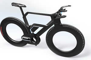 This Bike Features an Electric Motor System and a Carbon Frame