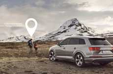 Off-Road Exploration Campaigns - Audi's 'Catch the Unseen' Inspires People to Visit Remote Places