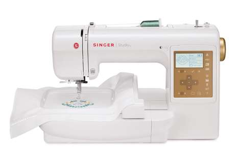 Custom Embroidery Machines - The Singer S10 Studio Embroidery Sewing Machine Enables Customization