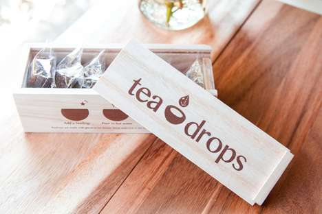 Dissolvable Loose Leaf Teas - 'Tea Drops' Provides a Mess-Free Alternative to Loose Leaf Tea